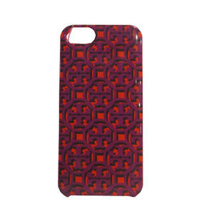 Tory Burch Iphone 5 Case Purple/Orange OS